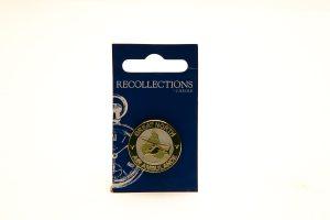 gnaas logo pin badge merchandise