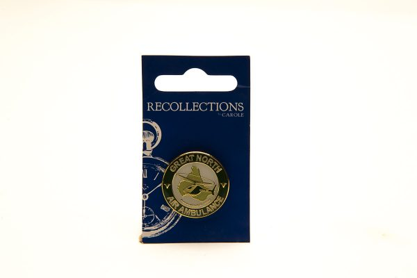 gnaas logo pin badge merchandise