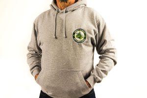 gnaas logo grey hoodie