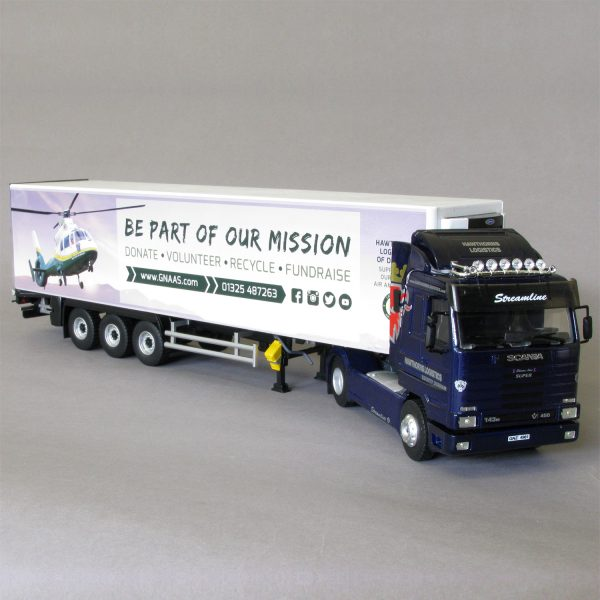 Scania Streamline Model Lorry with GNAAS livery