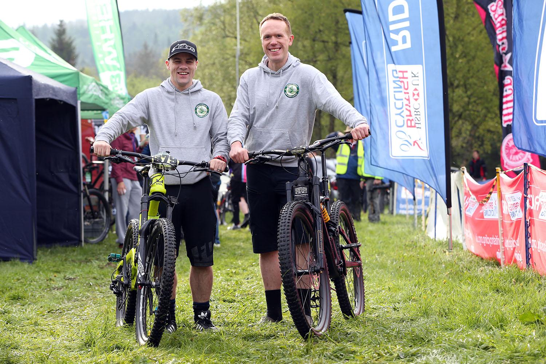 gnaas paramedic jamie walsh and doctor jeff doran cycling