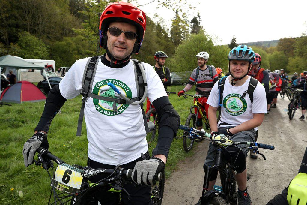 gnaas cyclists at hamsterley beast