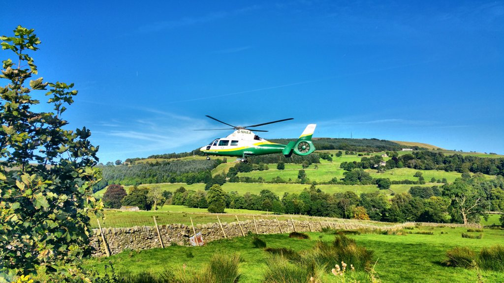 gnaas aircraft at alston cumbria