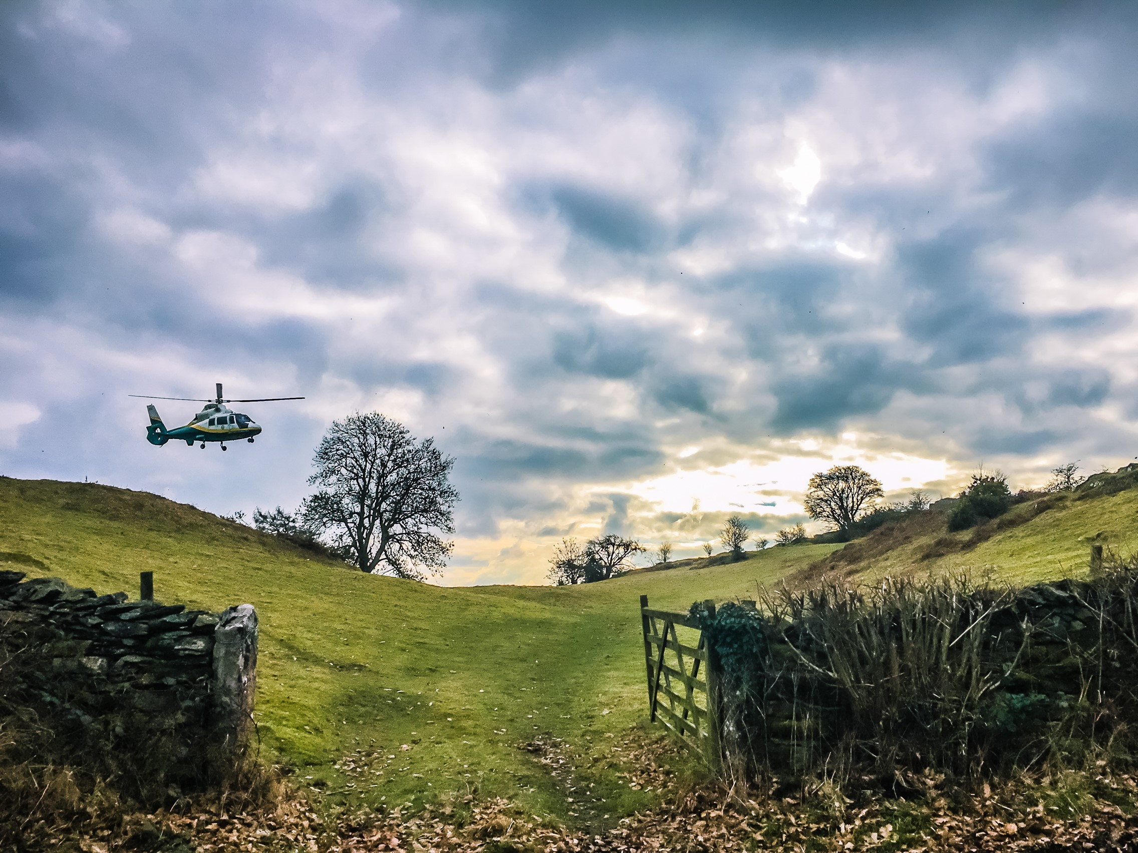 gnaas aircraft at crossthwaite