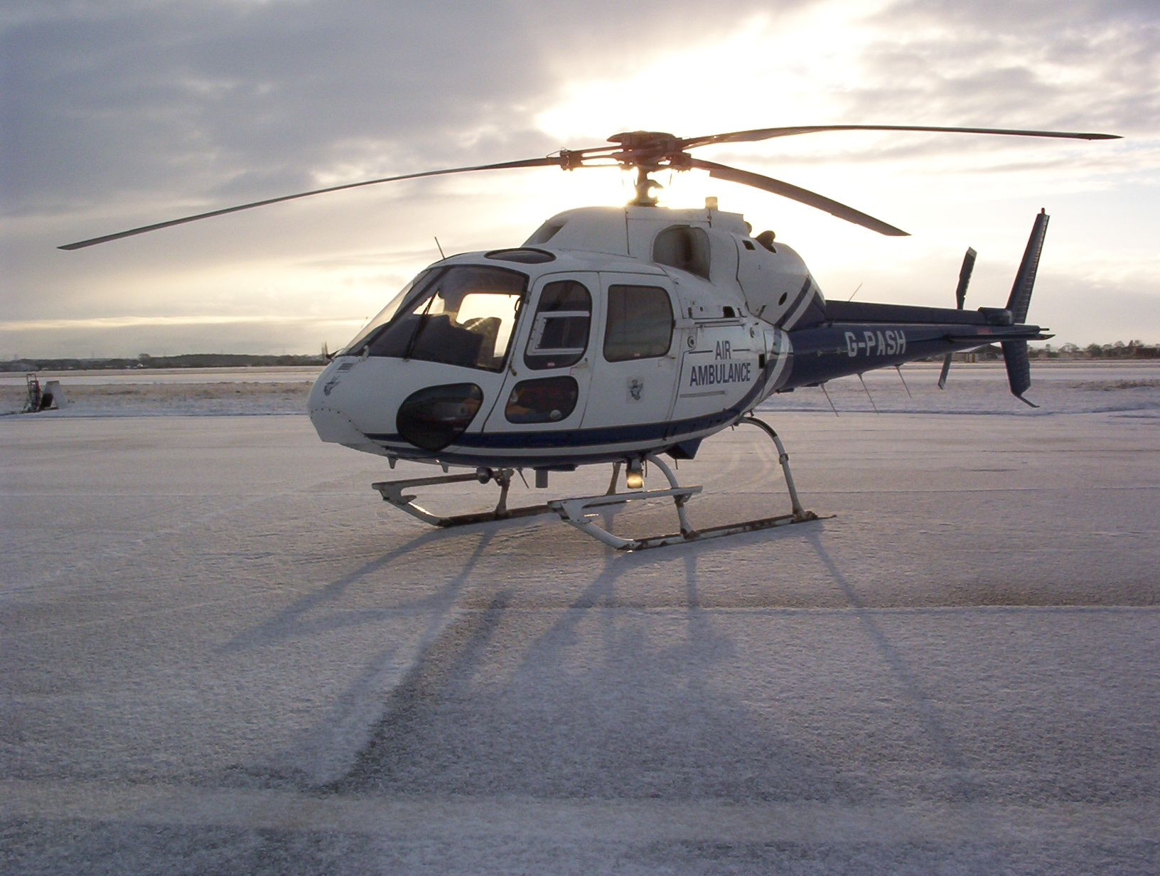 G-PASH helicopter