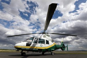 GNAAS charity helicopter which serves the North-East, Cumbria and North Yorkshire