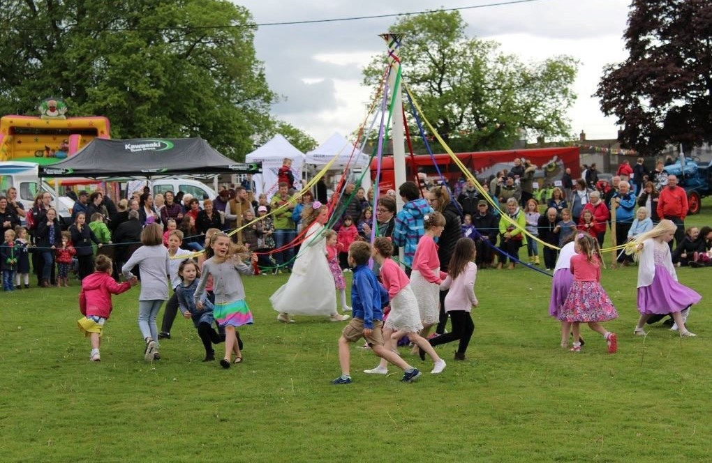 Langwathby May Day