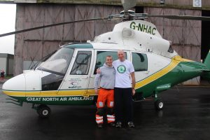 Paramedic Jamie Walsh and Ronnie Murray - Copy