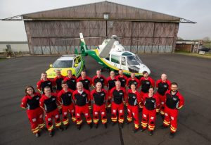 The team of the Great North Air Ambulance Service