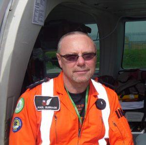 Paul Burnage, GNAAS paramedic