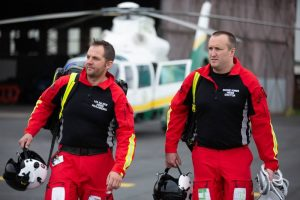 The GNAAS critical care team consists of a doctor and paramedic