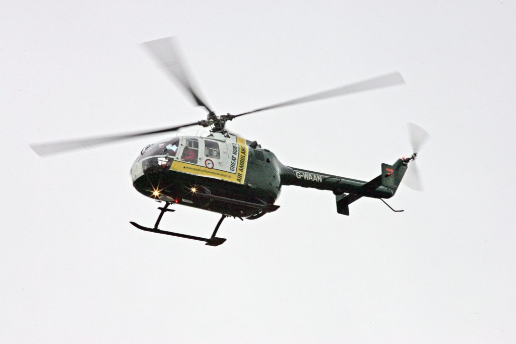G-WAAN helicopter