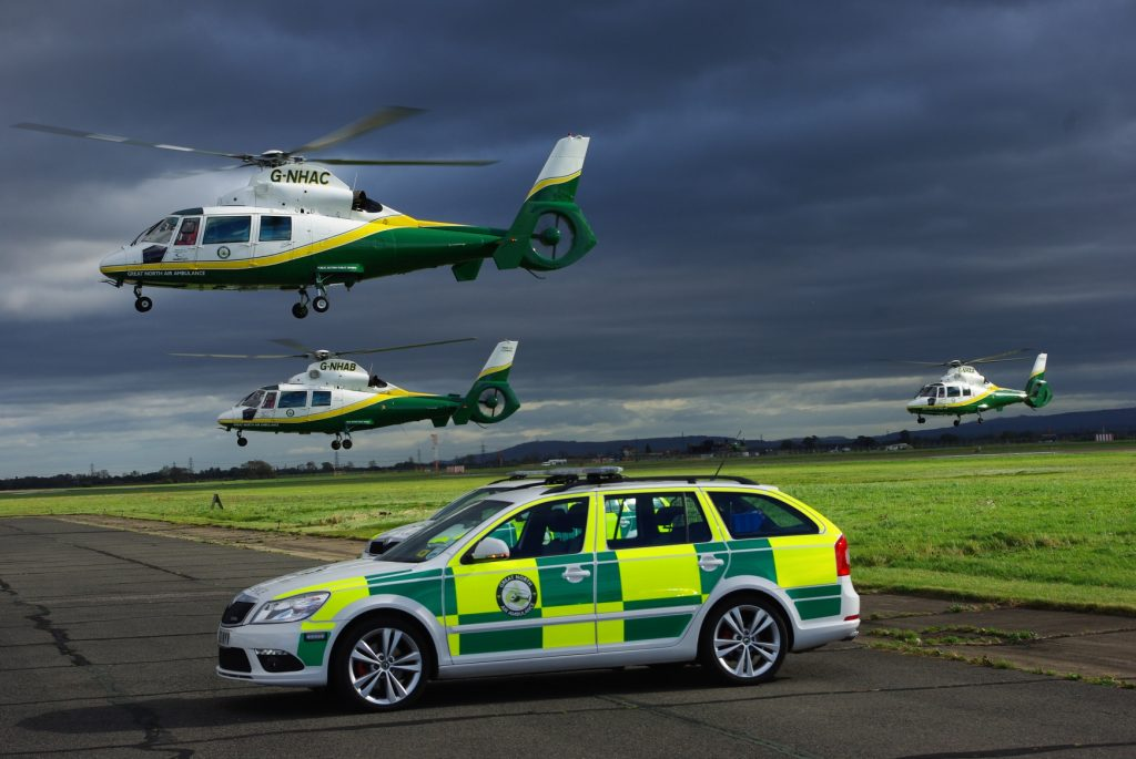 G-NHAA, G-NHAB and G-NHAC helicopters