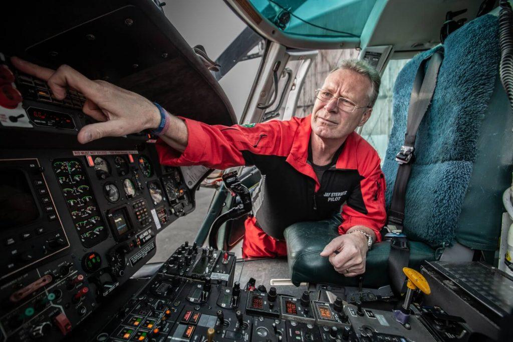 GNAAS chief pilot Jay Steward