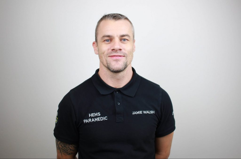 GNAAS paramedic Jamie Walsh