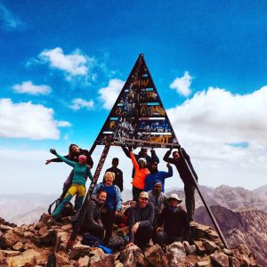 On The Summit of Toubkal